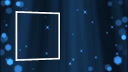 降り注ぐ光の粒子(ブルー)