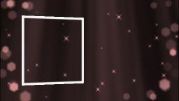 降り注ぐ光の粒子(ピンク)