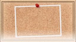 コルクボード(シンプル枠)