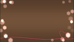 赤い糸(シンプルブラウン)