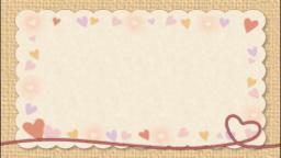 赤い糸(メッセージカード)