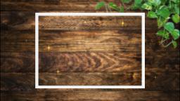 色の濃い板と葉っぱ