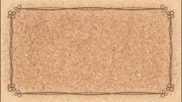 コルクボード(クローバー枠)