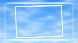 流れる雲(枠あり)