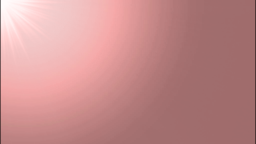 差し込む光(ピンク)