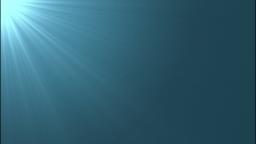 差し込む光(ブルー)