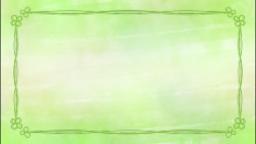 シンプル水彩(クローバー)