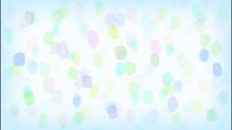 水彩水玉(ブルー)