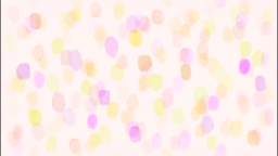 水彩水玉(ピンク)