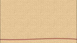 赤い糸(凹凸のある紙)