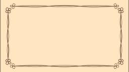 クローバー(ベージュ)