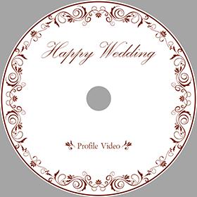 DVDレーベル印刷(