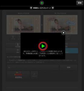 プレビュー動画ウィンドウの表示